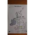 Zach's Weather Map.JPG