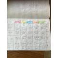 Lennon's Timetable.JPG