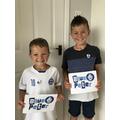 Isaac's Blue Peter Badge.jpeg