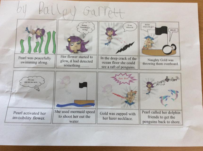 Bailey's Comic