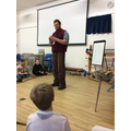 Meeting Tom the archaeologist!