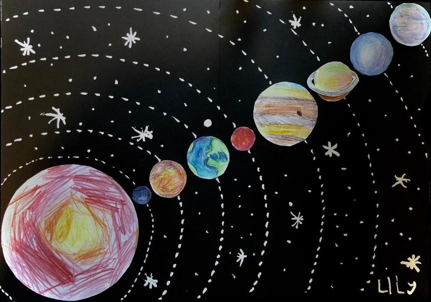 Lily's Solar System