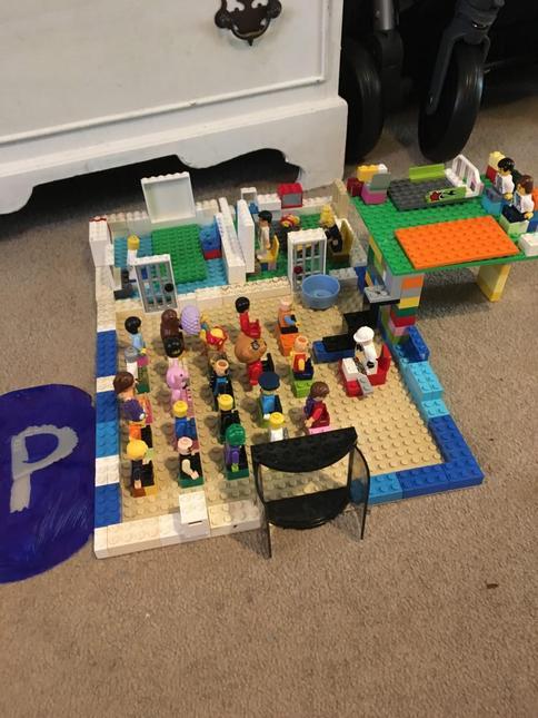 Sharona's Lego