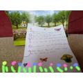 Hannah's Plant Poem