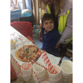 We even enjoyed a slice of pizza!