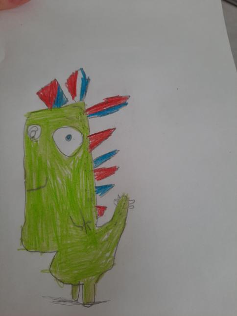 Grace's Dinosaur