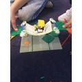 Making a suspension bridge