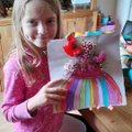 Esmee shows her artistic side!