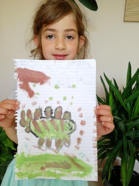 Corina's painting