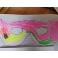 Alfie's mask