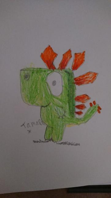 Tamara's dinosaur