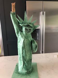 A very creative Statue of Liberty from Ruby!