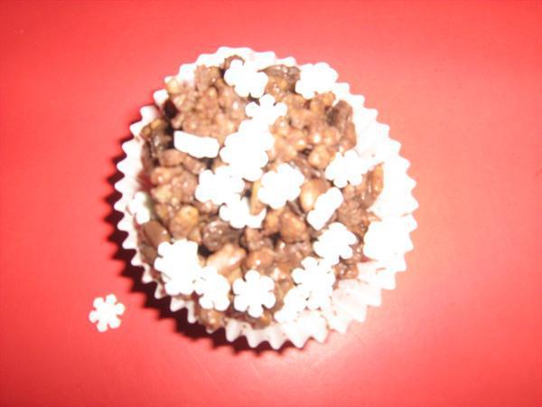 Sugar snow flakes