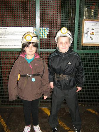 Our Day at Big Pit