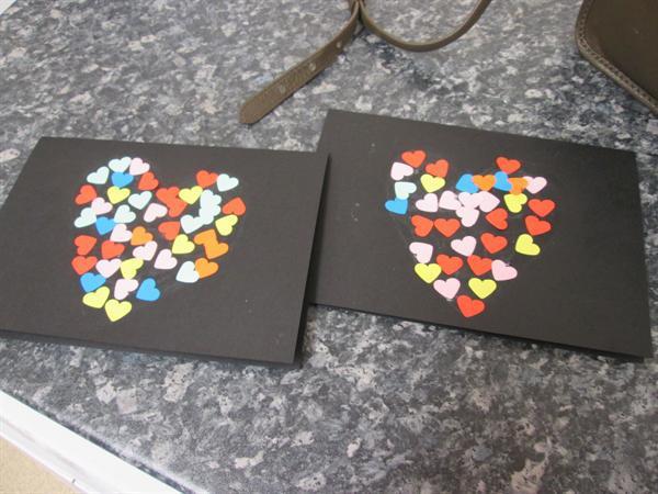 valentines cards craft activity