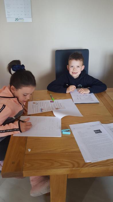 Super home schooling!