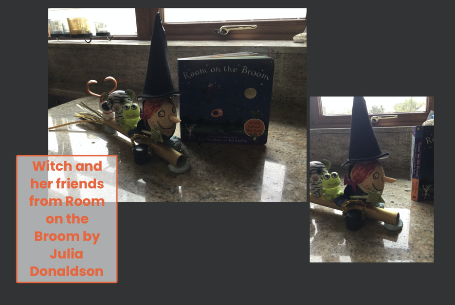 Room On The Broom Witch And Her Friends