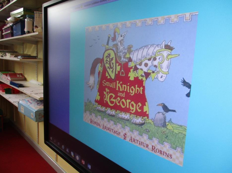 We have read the story if 'The Small Knight and George'!