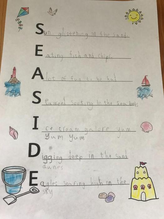 Super acrostic poem!