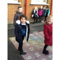 P2/3 have been learning to order numbers to 100.
