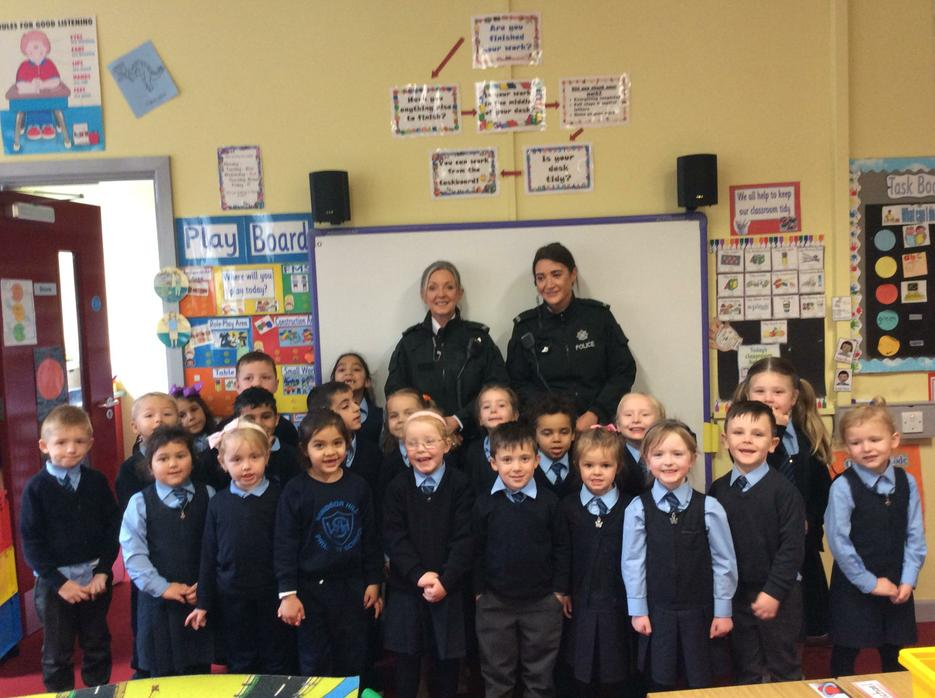 Police and fire safety!