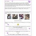 A Letter for Purple Butterflies