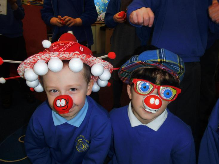 Some great Red nose days hats!!!