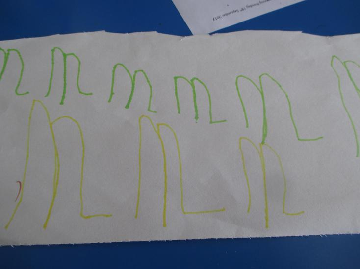 We learnt to hear, read and write the /m/ sound