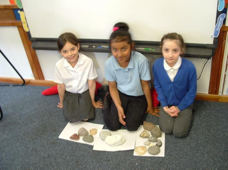 Which rock is an igneous rock?