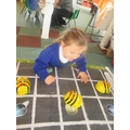 We have programmed our BeeBots.