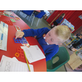 Numicon helps us to solve number problems.
