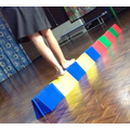 """""""Organising"""" - balancing on the blocks."""