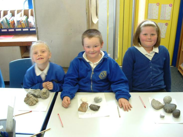 Which rock is a metamorphic rock?