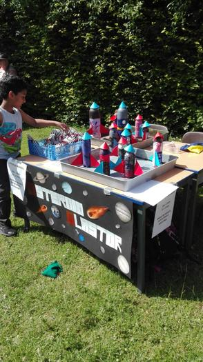 Summer fete 2019 - Year 3 Asteroid Blaster game