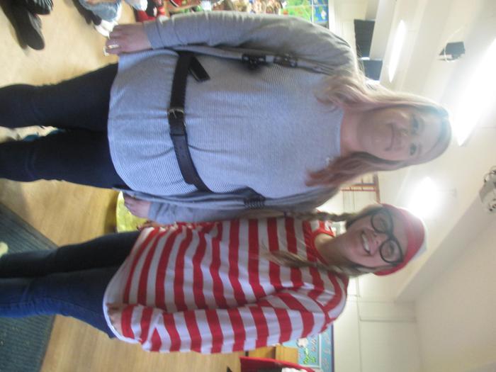 Miss Fielder & Mrs Snook - World Book Day
