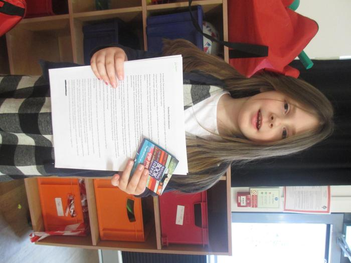 Lola - winner of 500 word story Yr3/4
