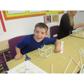 Year 4 creating 3D shapes
