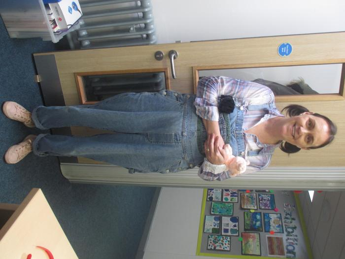 Mrs Barney as Fern from Charlottes Web