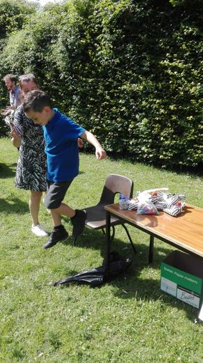 Summer fete 2019 - Mrs White's Tin Can Alley