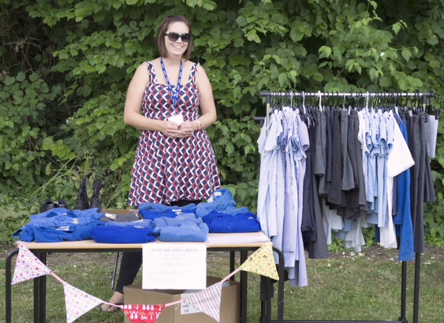 Uniform sale at the Summer Fete 2018