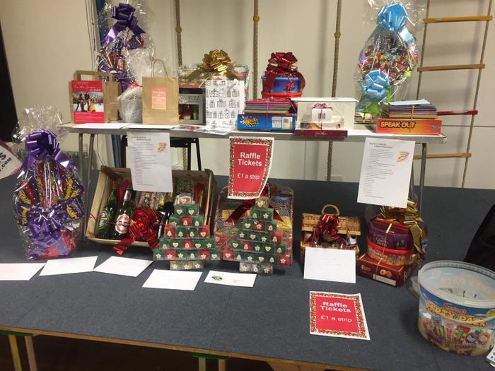 Christmas Fayre 2019 - Grand raffle