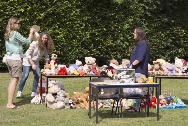 Teddy Tombola at the Summer Fete 2018