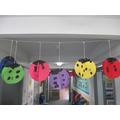 Reception ladybird spots
