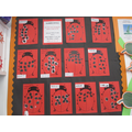 Year 1 number bond ladybirds