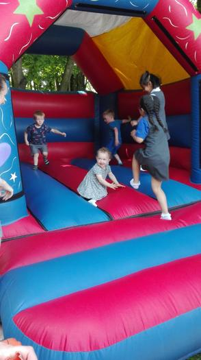 Summer fete 2019 - Bouncy castle fun