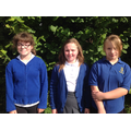 Library Leaders: Jessica, Alicia and Olivia