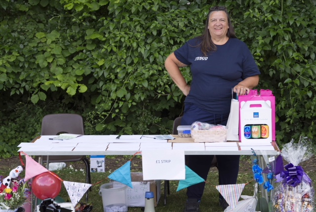 The very popular raffle at the Summer Fete 2018