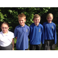 Sports Leaders: Ellie, Oliver, Reggie and Rebecca