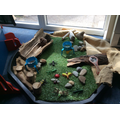 Our classroom minibeast area