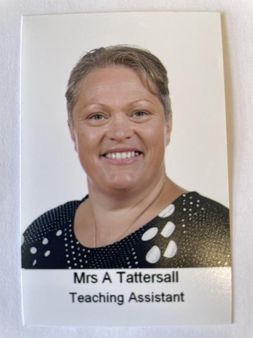 Mrs Tattersall - Year 4 Teaching Assistant